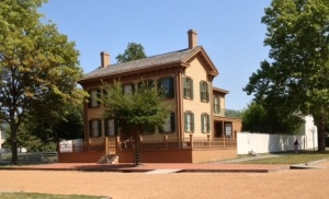 President Lincoln's home in Springfield, Ill.